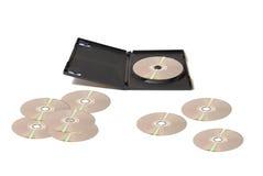 DVD kolekci rozszerzanie się Zdjęcie Stock