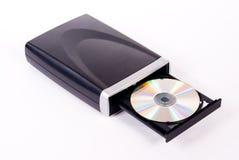 DVD Laufwerk lizenzfreie stockbilder
