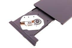 DVD-Leser offen stockfotografie