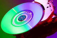 DVD loader Royalty Free Stock Photo