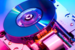 DVD loader Royalty Free Stock Photos