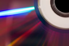 DVD Macro Royalty Free Stock Photography