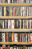 DVD movie collection Stock Images