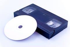 DVD - nastro Fotografia Stock Libera da Diritti