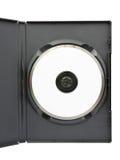 DVD nel caso Fotografie Stock