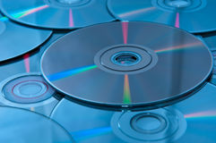 DVD optical disk Royalty Free Stock Images
