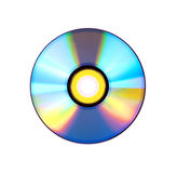 DVD over white background royalty free stock photos