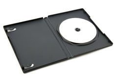 Dvd In Plastic Box Royalty Free Stock Photography