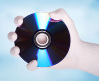 DVD Platte Lizenzfreies Stockbild