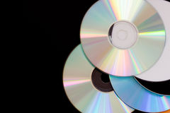 DVD Platte Stockbild