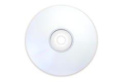 DVD Platte schoss ohne den blauen Regenbogengrellen glanz. Stockfotos