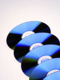 DVD Platten Lizenzfreies Stockfoto