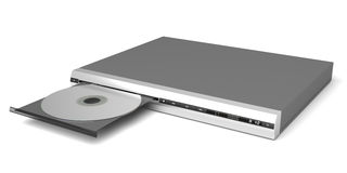 DVD player Stock Photo