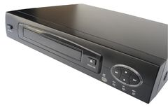 DVD Player. Isolated Royalty Free Stock Photos