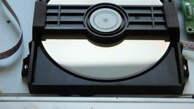 DVD player. Inside a DVD player. stock video