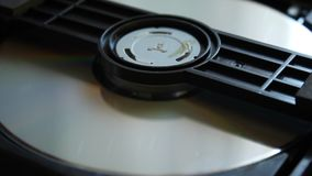 DVD player. Inside a DVD player. stock footage