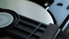 DVD player. Inside a DVD player. stock video footage