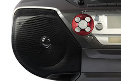 DVD Player with Speaker Stock Photo