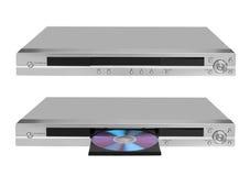 DVD player on white vector illustration