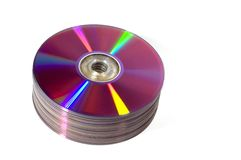 DVD-R Royalty Free Stock Photo