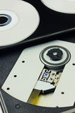 DVD recorder close up Stock Photography
