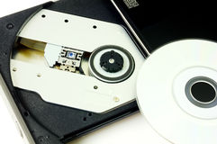 DVD recorder closeup Royalty Free Stock Images