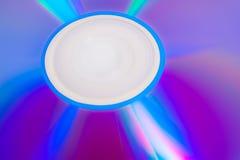 DVD reescribible púrpura imágenes de archivo libres de regalías