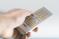 DVD Remote Contro Stock Photo