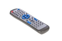 DVD remote control Stock Image