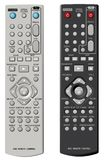 DVD remote control. Vector illustration Royalty Free Stock Image