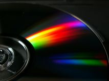 DVD ROM Stock Photography