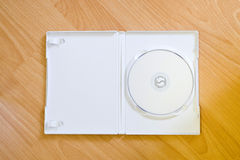 DVD-rom with Case Stock Image