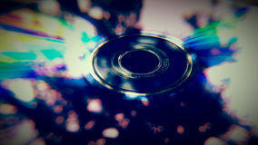 DVD Rom closeup Royalty Free Stock Image