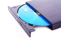 Dvd-rom isolated Stock Image