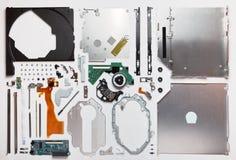 DVD-ROM smontato del CD dell'azionamento ottico Immagine Stock