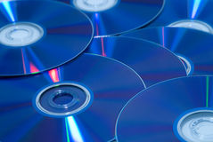 DVD's Royalty Free Stock Image