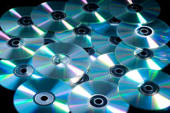 DVD's Royalty Free Stock Images