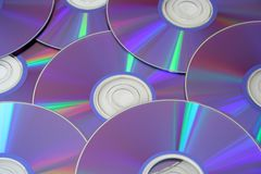 DVD's Royalty Free Stock Photo