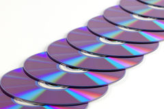 dvd s photographie stock