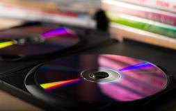 DVD-schijven Royalty-vrije Stock Afbeeldingen