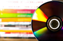 DVD-schijven Royalty-vrije Stock Foto's