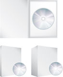 Dvd set Stock Photography