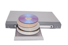 DVD-Spieler Stockfotografie