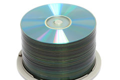 DVD Stack Stock Image