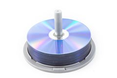Dvd storage Royalty Free Stock Photography