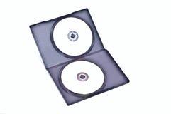 Dvd twee Royalty-vrije Stock Afbeeldingen