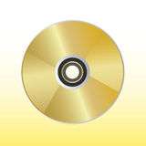 Dvd vector Royalty Free Stock Photography