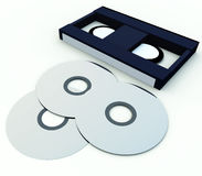 DVD And Video 6 Royalty Free Stock Photos