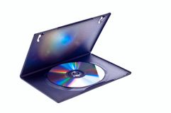 DVD video case Stock Images