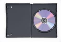 DVD viola nel caso Fotografia Stock Libera da Diritti